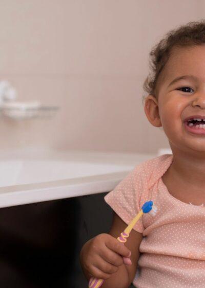 Ab wann Zähne Putzen baby Header