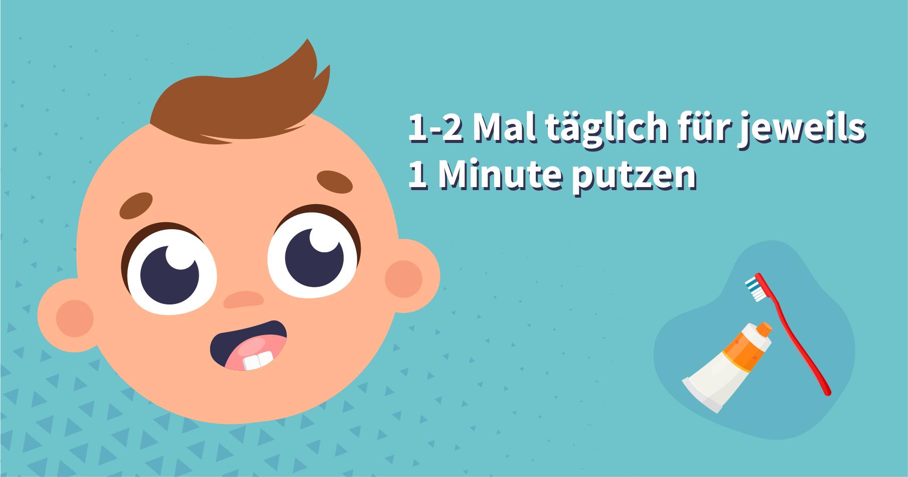 Zähneputzen beim Baby