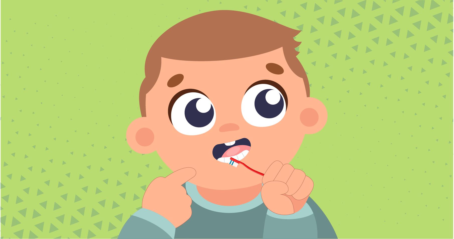 Mundhygiene von Kindern